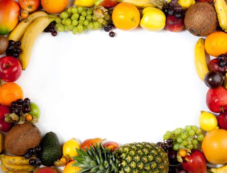fruits frame Stock Photo - 11043995