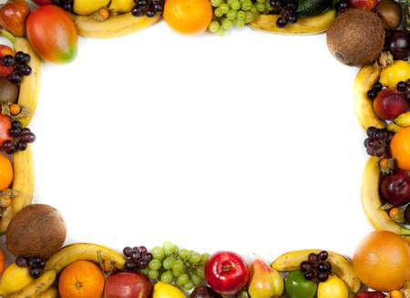 fruits frame Stock Photo - 11044083