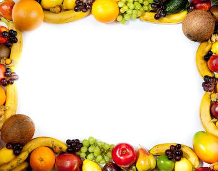 fruits frame Stock Photo - 11044026