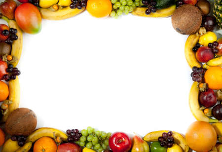 fruits frame Stock Photo - 11044041