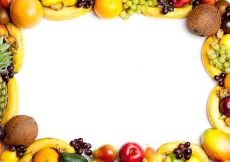 fruits frame Stock Photo - 11044087