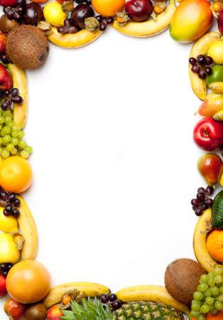 ensalada de frutas: frutas marco