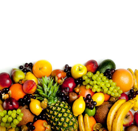 abstract fruit: marco de las frutas