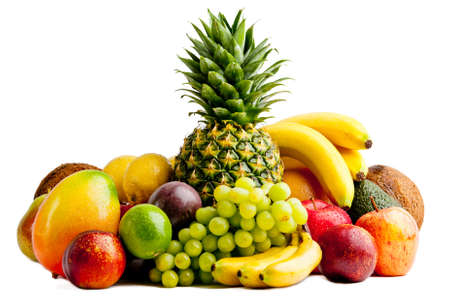 fruits isolated  photo