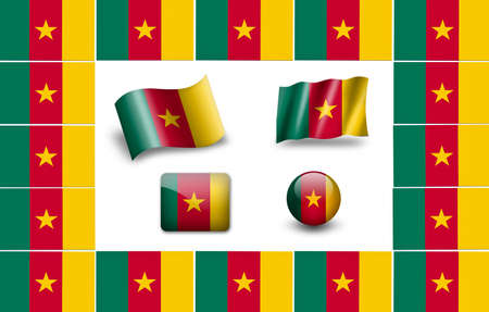 Flag of Cameroon photo