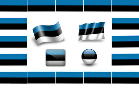 flag of Estonia photo
