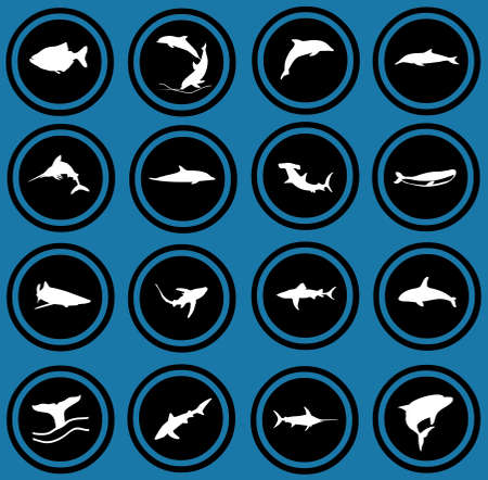 fish icons photo