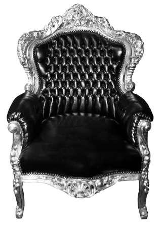 trono: butaca de lujo aislado Vintage silla aislados