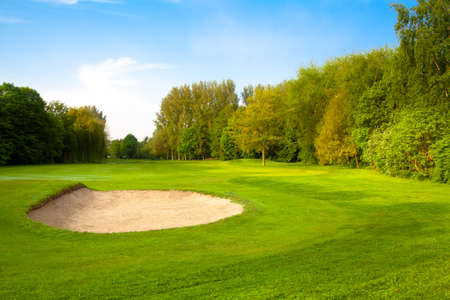 golf course. Stock Photo