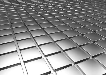 Silver  background. Stock Photo - 19869615