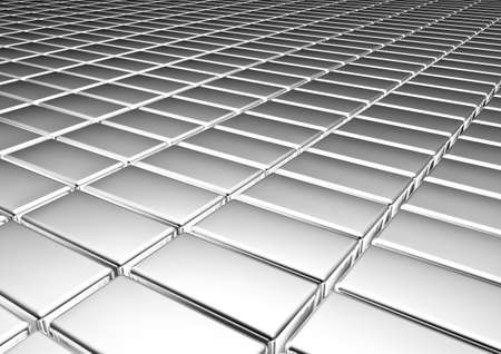 Silver  background. Stock Photo - 20382430