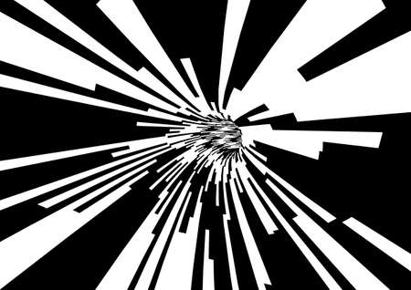 simplex: abstract background in black and white