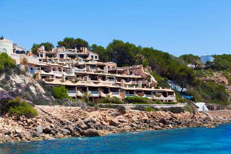 spanish houses: Beautiful spanish houses. Modern resort