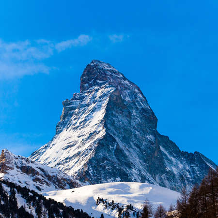 The Matterhorn in Switzerland photo