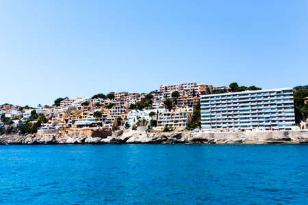 View of Mallorca coast, balearic islands, Spain photo