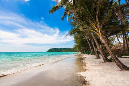 kood: tropical beach. Beach on Ko Kood Stock Photo