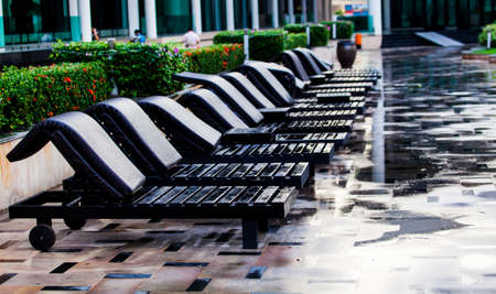 Relaxing chairs photo