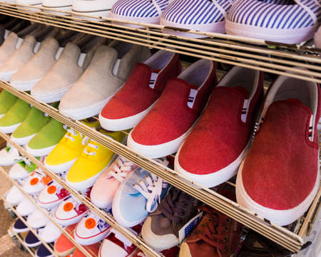 plimsoll: lots of  shoes on sale. Diverse shoes