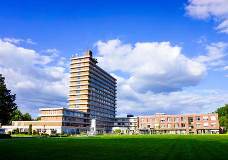 medical center: Modern hospital. hospital building.  Medical Center