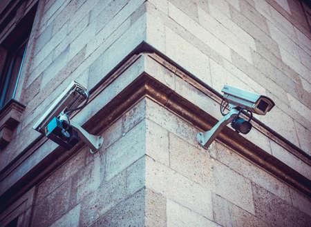 při pohledu na fotoaparát: Bezpečnostní kamera