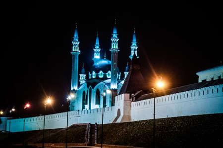 kazan: Kul Sharif mosque in Kazan Kremlin.   Kazan. Russia.