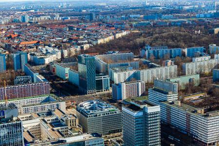 european culture: Berlin Skyline City Panorama. Berlin, Germany, Europe.