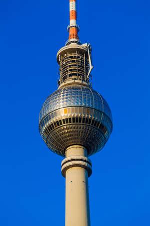 tv tower: Tv tower in Alexanderplatz, Berlin, Germany