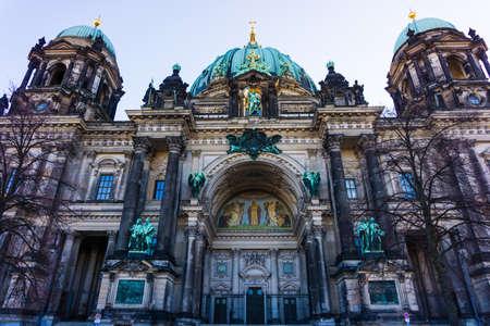 dom: Cathédrale de Berlin (Berliner Dom) évangélique néo-renaissance cathédrale