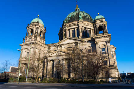 dom: Berlin Cathedral (Berliner Dom)  Evangelical neo-renaissance cathedral Stock Photo