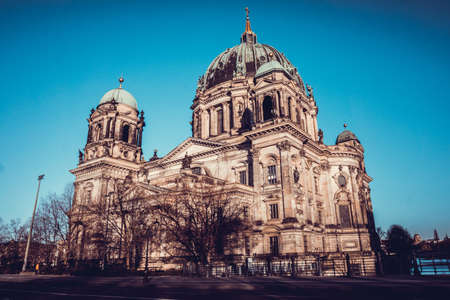 evangelical: Berlin Cathedral (Berliner Dom)  Evangelical neo-renaissance cathedral Editorial