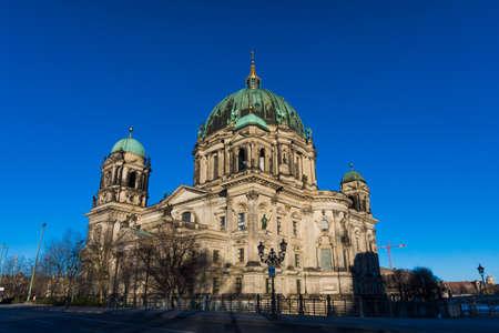 dom: Cath�drale de Berlin (Berliner Dom) �vang�lique n�o-renaissance cath�drale