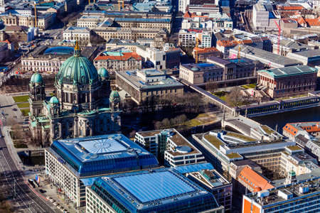 sears: Aerial view of Berlin. Panorama of Berlin.  Berlin birds-eye view.