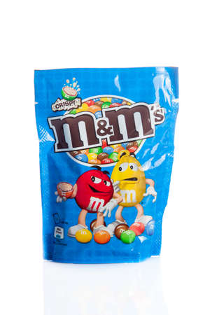 incorporated: DUSSELDORF, GERMANY - NOVEMBER 24, 2015. M&Ms Chocolate candies, produced by Mars, Incorporated. M&Ms have been one of the most famous candy treats in the world since 1941.