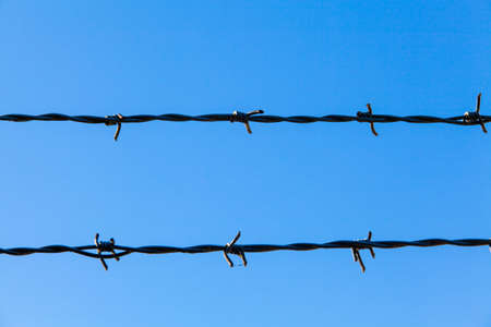 barb wire: Barbed Wire