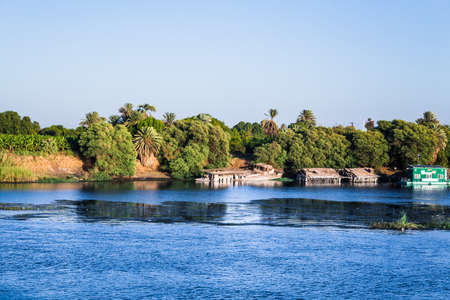 River Nile in Egypt Stock Photo