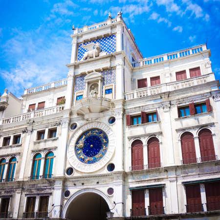 saint marks: Zodiac Clock, Saint Marks Square, Venice, Italy Editorial