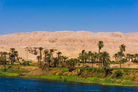 Nile river, Egypt Stock Photo