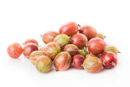 gooseberry: gooseberry isolated on white