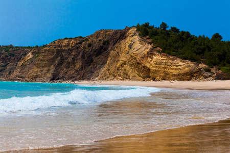 algarve: Algarve beach. The coast of the Algarve