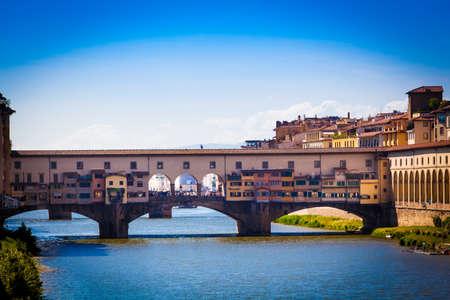 ponte: Ponte Vecchio, Florence, Italy Stock Photo