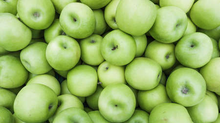 green apples: Green apples.  Group of green apples Stock Photo