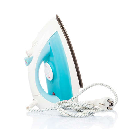 steam iron: Steam iron isolated on white background