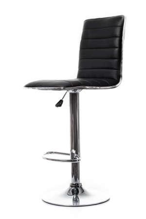bar chair: bar chair isolated on white. Single stool Stock Photo