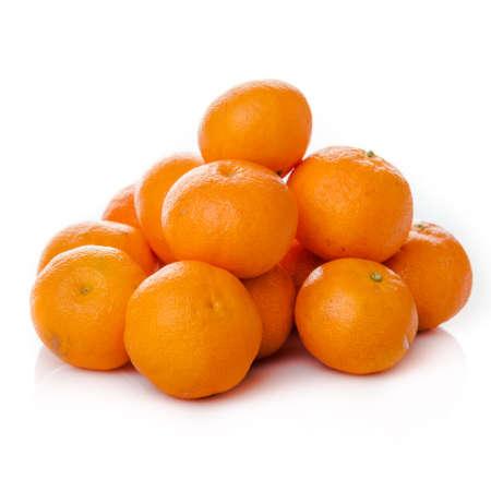 sweet segments: clementine  isolated.  mandarin.  orange. tangerine