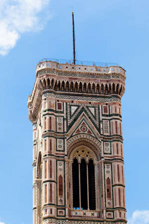 fiore: The Basilica di Santa Maria del Fiore  in Florence, Italy Stock Photo