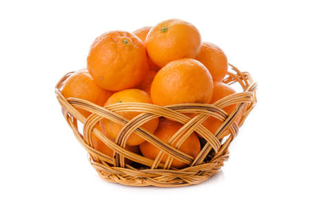 tangerine: clementine  isolated.  mandarin.  orange. tangerine