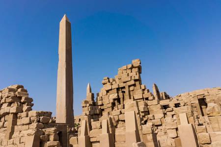 obelisk: Egypt, Luxor  obelisk