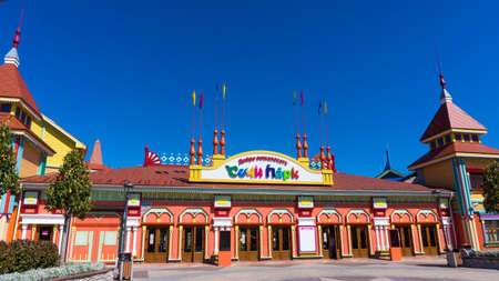 Sochi, Russia - MAY 16, 2016: Sochi Park - theme park in the city of Sochi