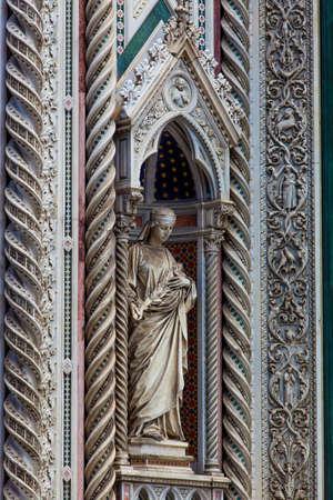 santa maria del fiore: The Basilica di Santa Maria del Fiore  in Florence, Italy Editorial