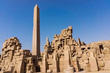 past civilization: Egypt, Luxor  obelisk